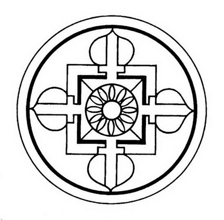 Роза-крест, тибетская мандала, архетип: allconspirology.org/books/pod-red--A--CHerinotti_Rozenkreytsery-iz...